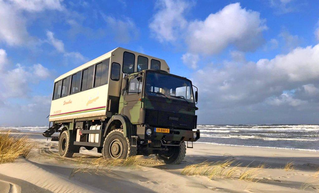 tour strandbus drenkelinghuisje